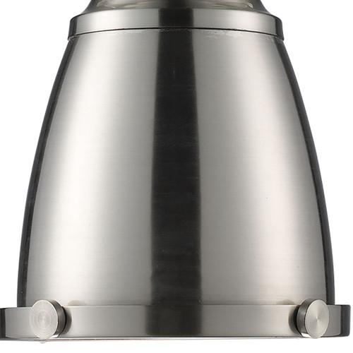 ELK Lighting 66119-1 Chadwick 1-Light Mini Pendant in Satin Nickel with Matching Shades