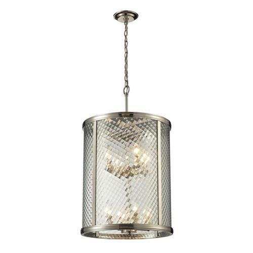 ELK Lighting 31463-8 Chandler 8 Light Pendant in Polished Nickel