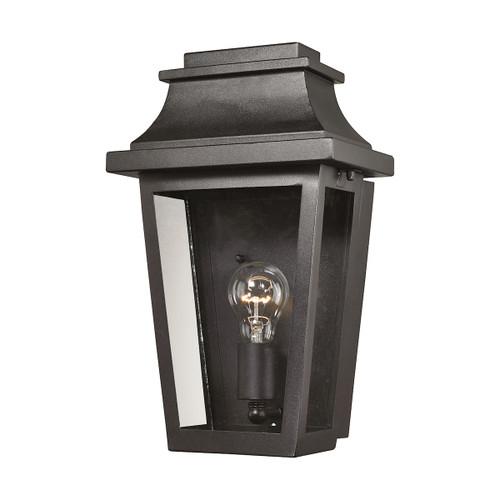ELK Lighting 46190/1 Covina 1-Light Outdoor Wall Lamp in Matte Black