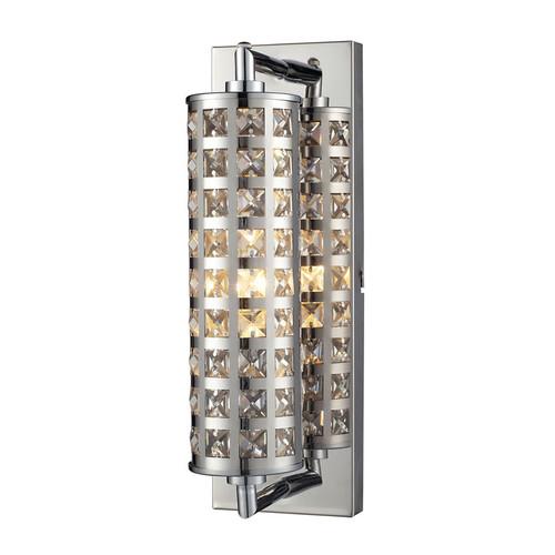 ELK Lighting 31346-1 Crystallure 1 Light Bath in Polished Chrome