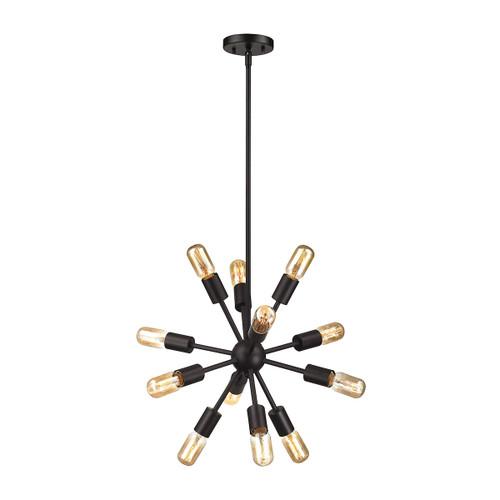 ELK Lighting 46230/12 Delphine 12-Light Chandelier in Oil Rubbed Bronze