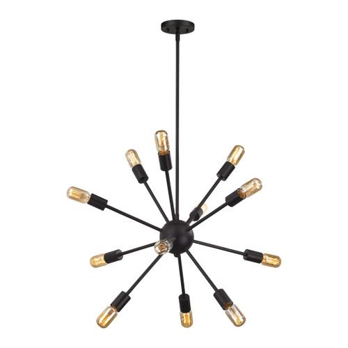 ELK Lighting 46231/12 Delphine 12-Light Chandelier in Oil Rubbed Bronze