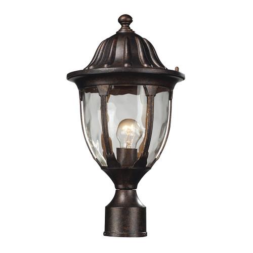 ELK Lighting 45005/1 Glendale 1-Light Outdoor Post Mount in Regal Bronze