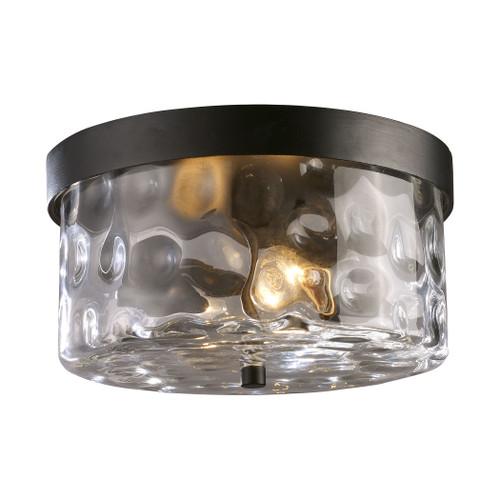 ELK Lighting 42253/2 Grand Aisle 2-Light Outdoor Flush Mount in Hazelnut Bronze