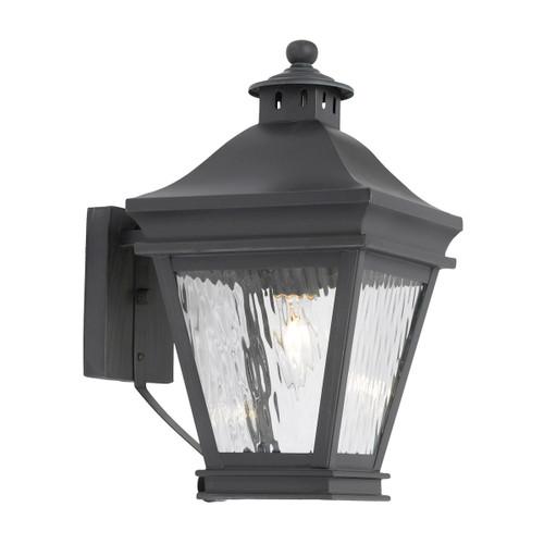 ELK Lighting 5720-C Landings 1-Light Outdoor Wall Lantern in Charcoal