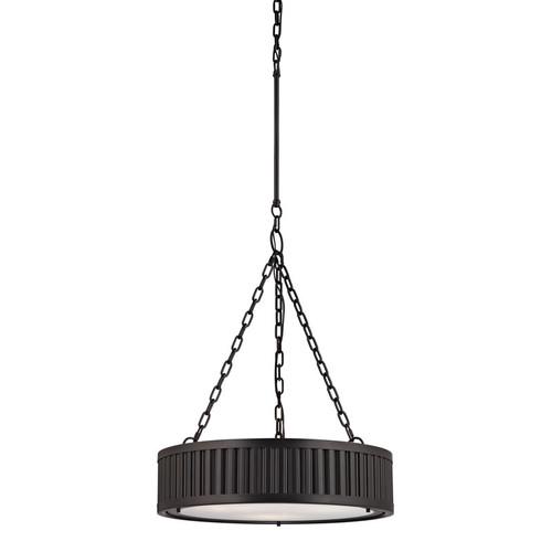 ELK Lighting 46134-3 Linden 3 Light Pendant in Oil-Rubbed Bronze