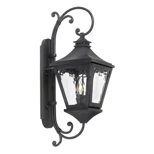ELK Lighting 6711-C Manor 2-Light Outdoor Wall Lantern in Charcoal