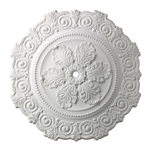 ELK Lighting M1011WH Marietta Medallion 33 Inch in White Finish