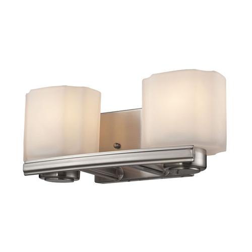 ELK Lighting 66186-2 New Haven 2 Light Vanity in Brushed Nickel