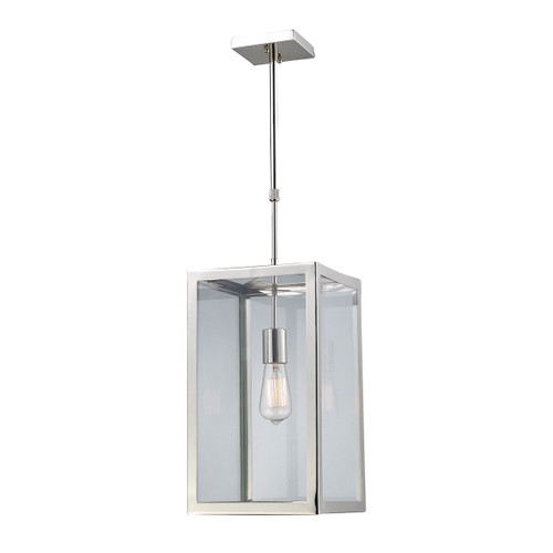 ELK Lighting 31212/1 Parameters 1-Light Mini Pendant in Polished Chrome with Clear Glass