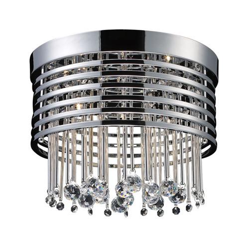 ELK Lighting 30023-5 Rados 5 Light Flushmount in Polished Chrome