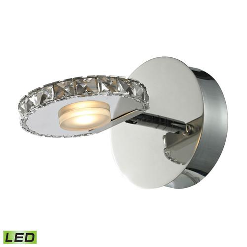 ELK Lighting 54000-1 Spiva 1 Light Bath in Polished Chrome