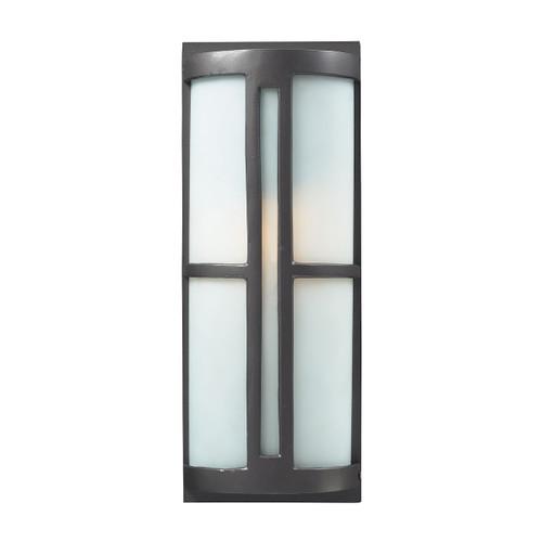 ELK Lighting 42395/1 Trevot 1-Light Outdoor Sconce in Graphite