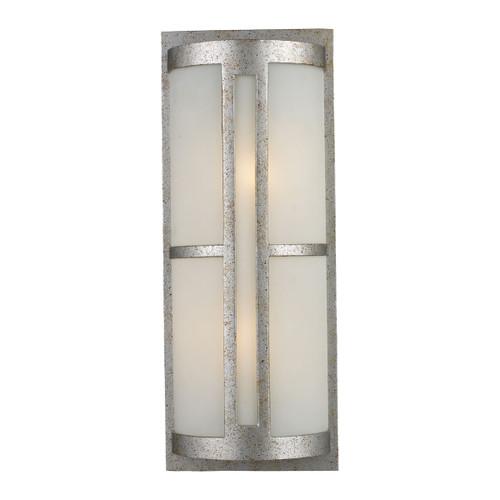 ELK Lighting 42096/2 Trevot 2-Light Outdoor Wall Lamp in Sunset Silver