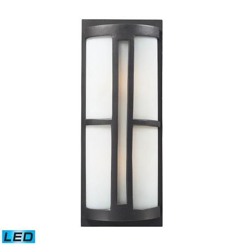 ELK Lighting 42396/2-LED Trevot 2-Light Outdoor Sconce in Graphite - Includes LED Bulbs