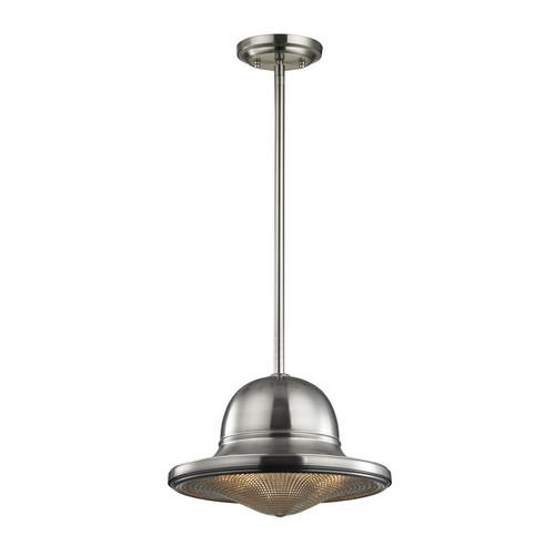 ELK Lighting 17242-1 Urbano 1 Light Pendant in Brushed Nickel