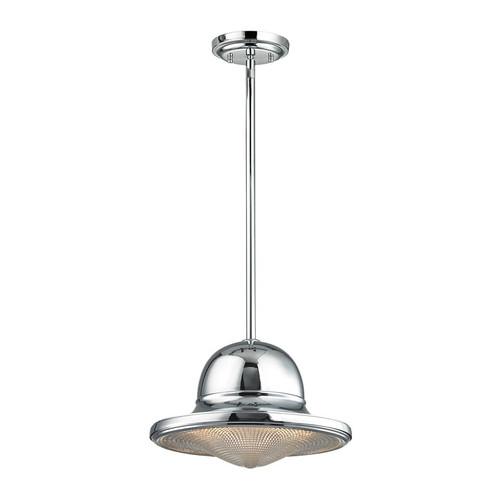 ELK Lighting 17232-1 Urbano 1 Light Pendant in Polished Chrome