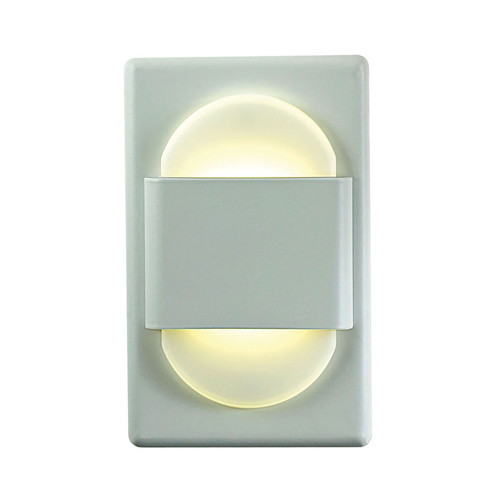 Elk WLE105DR32K-10-30 Ez Step Recessed Wall Light with White Opal Acrylic Diffuser and White Plate (C/W Driver)