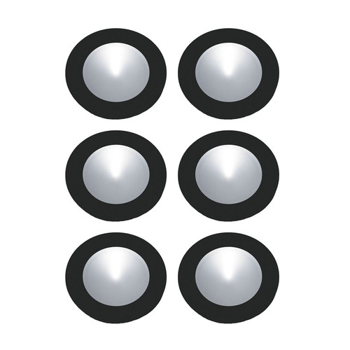 Elk WLE140C32K-0-31-6 6-Polaris LED Kit - 3W 32K 700Ma Pucklights in White (C/W 18W Driver & Harness)