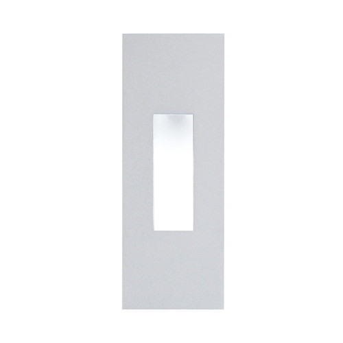 Elk WLE106SQ32K-5-16 Scope Wall Recessed 1.2W LED Rectangle Trim for New Construction Housing (Sold Separately) with Frosted Lens and Stainless Steel Trim