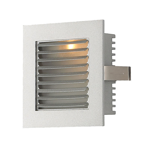 Elk WLE-104 Steplight with Wall Recessed LED Trim for New Construction Housing (Sold Separately) Grey Louvre/Grey Trim