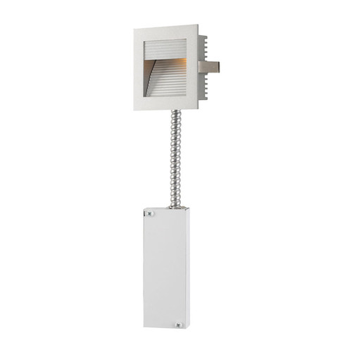 Elk WLE-102-RM Steplight with Wall Recessed LED (Retrofit Housing) Grey Reflector/Grey Trim
