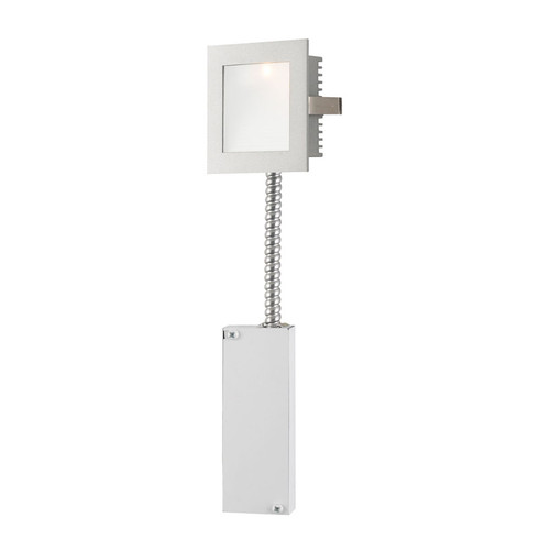 Elk WLE-101-RM Steplight with Wall Recessed LED (Retrofit Housing) Opal Lens/Grey Trim