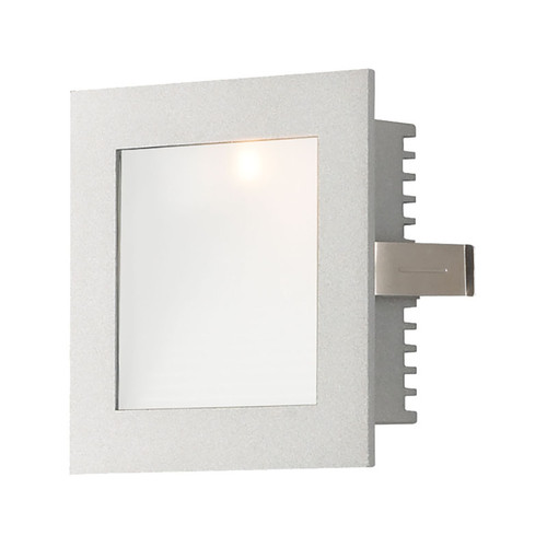 Elk WZ-101 Steplight with Wall Recessed Xenon Trim for New Construction Housing (Sold Separately) Opal Lens/Grey Trim