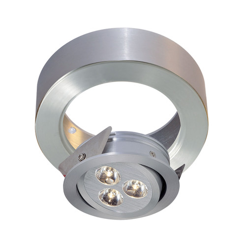 ELK Lighting WLC141-N-98 Tiro Collar 3 Light Tiro Conversion ring for J-Box in Brushed Aluminum