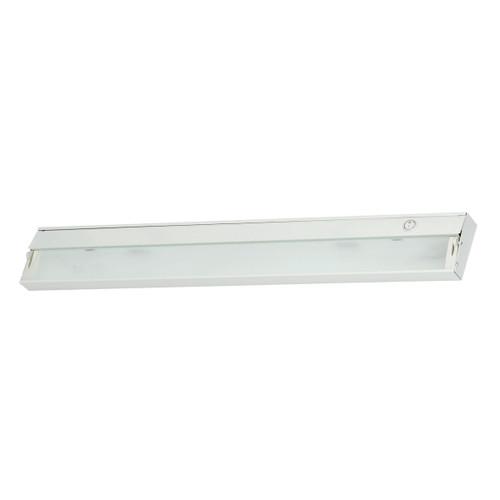 ELK Lighting ZL035RSF Zeeline 4-Light Under-cabinet Light in White with Diffused Glass