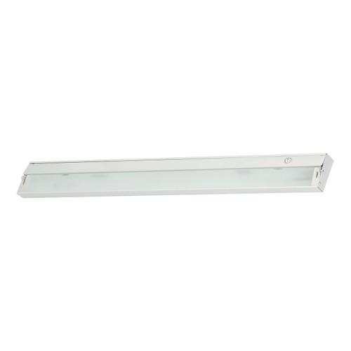 ELK Lighting ZL048RSF Zeeline 6-Light Under-cabinet Light in White with Diffused Glass