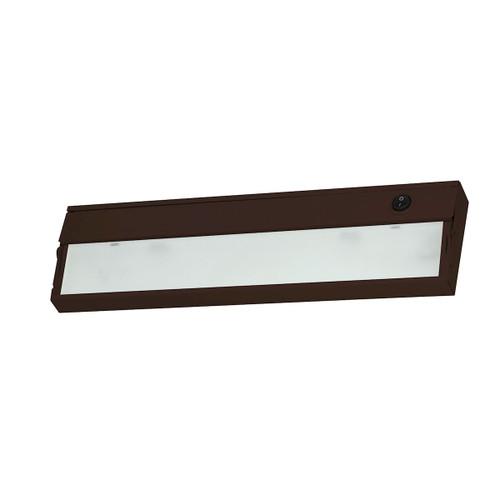 ELK Lighting HZ309RSF ZeeLite 1-Light Under-cabinet Light in Bronze with Diffused Glass