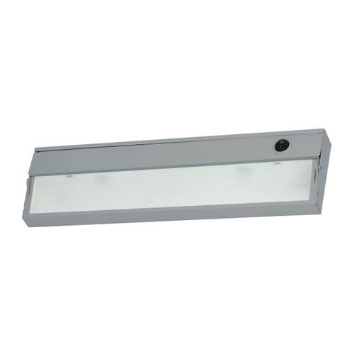 ELK Lighting HZ109RSF ZeeLite 1-Light Under-cabinet Light in Stainless Steel with Diffused Glass