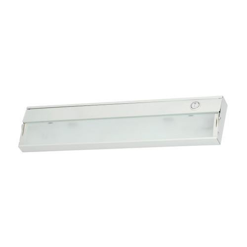 ELK Lighting HZ017RSF ZeeLite 2-Light Under-cabinet Light in White with Diffused Glass