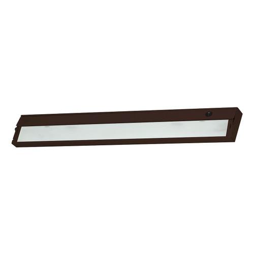 ELK Lighting HZ335RSF ZeeLite 4-Light Under-cabinet Light in Bronze with Diffused Glass