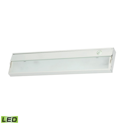 ELK Lighting LD017RSF-D ZeeLED 2-Light Under-cabinet Light in White with Diffused Glass - Integrated LED