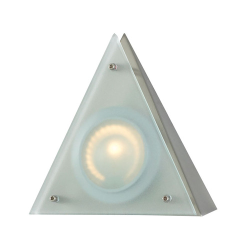 Elk MZ901-5-16-5 Zee-Puk Wedge with Triangle Shade - Frosted Lens/Stainless Steel