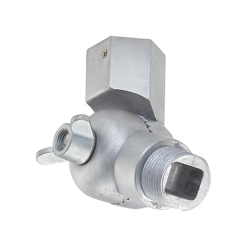 Millennium Lighting RSW-GA R Series Swivel Head Ball Joint Wall Mount in Galvanized Steel