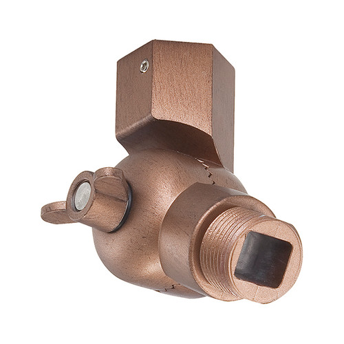Millennium Lighting RSW-CP R Series Swivel Head Ball Joint Wall Mount in Copper