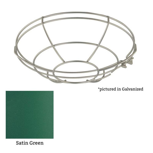 """Millennium Lighting RWG10-SG R Series Satin Green 10"""" Protective Light Wire Guard"""