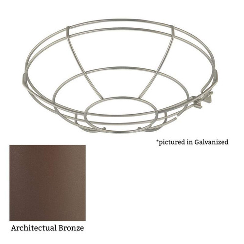 """Millennium Lighting RWG12-ABR R Series Bronze 12"""" Protective Light Wire Guard"""