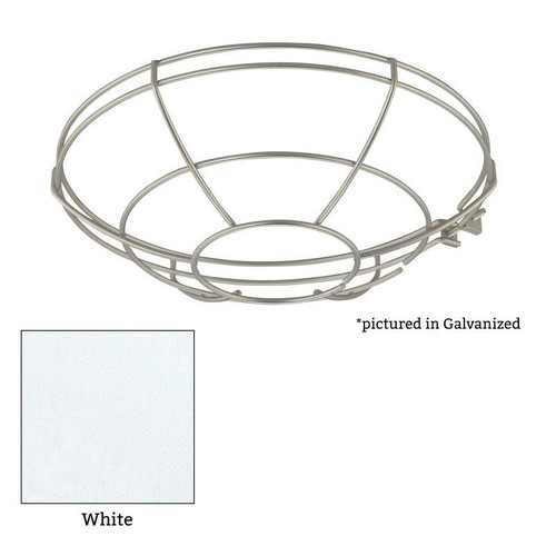 """Millennium Lighting RWG12-WH R Series White 12"""" Protective Light Wire Guard"""