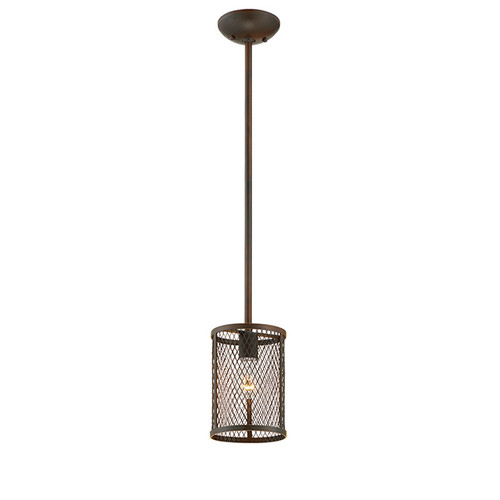 Millennium Lighting 3261-RBZ Akron Mini Pendant in Rubbed Bronze