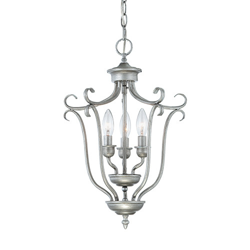 Millennium Lighting 1333-RS Fulton Pendant in Rubbed Silver