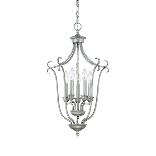 Millennium Lighting 1335-RS Fulton Pendant in Rubbed Silver