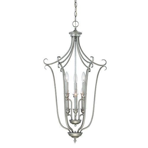 Millennium Lighting 1336-RS Fulton Pendant in Rubbed Silver