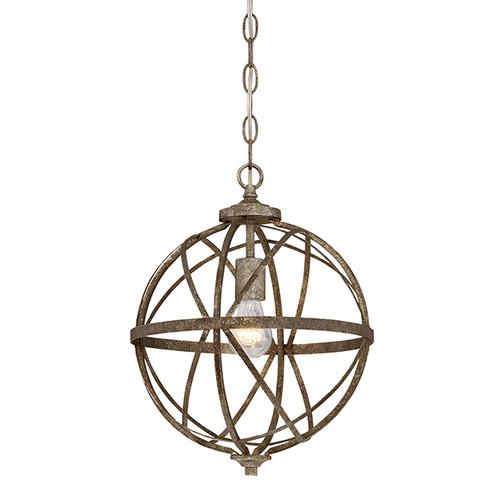 Millennium Lighting 2281-AS Lakewood Pendant in Antique Silver