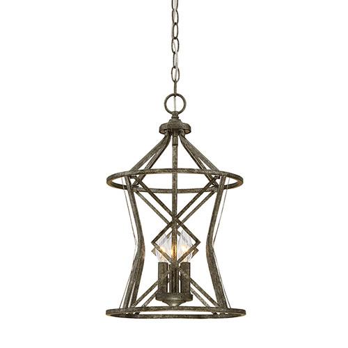 Millennium Lighting 2293-AS Lakewood Pendant in Antique Silver