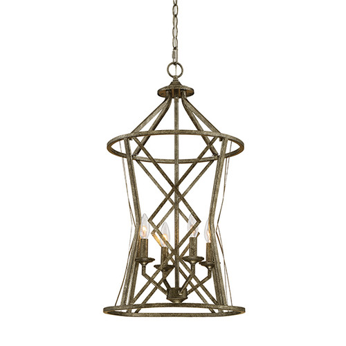 Millennium Lighting 2294-AS Lakewood Pendant in Antique Silver