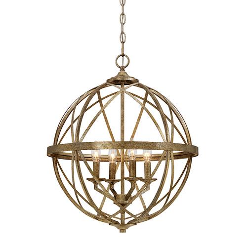 Millennium Lighting 2284-VG Lakewood Pendant in Vintage Gold
